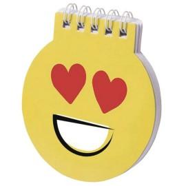 Libreta Notas Emoji Corazon