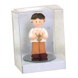 Niño en Caja Transparente