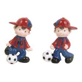 Aplique Iman Futbol Barza 6cm