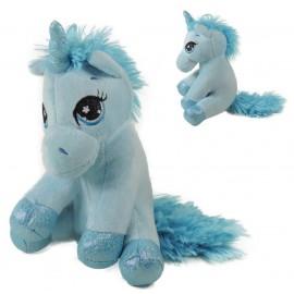 Peluche Unicornio Azul ↕ 23cm