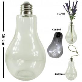 Bombilla Cristal Decorativa ↕ 16cm