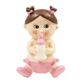 Bebe Biberon Aplique 6 cm (6 ud)
