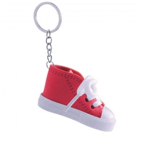 Llavero Botita Bebe Rojo