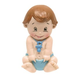 Bebe Sentado Iman Azul (6ud)