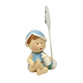 Bebe Biberon Azul Clip ↕ 9cm