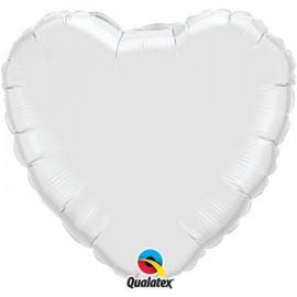 Globo Foil Corazon Blanco 36''