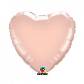 Globo Foil Corazon Blanco 18''
