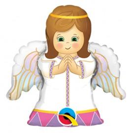 Globo Foil Niña Angel 14''