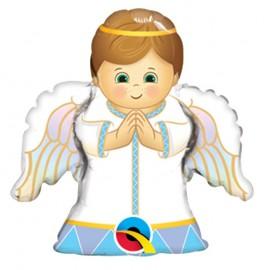 Globo Foil Niño Angel 14''