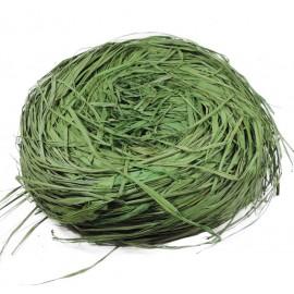 Rafia Natural 450 grs Verde