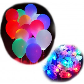 Led para Globos 3 cm Color