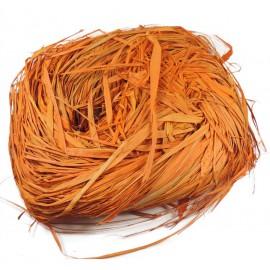 Rafia Natural 450 grs Naranja