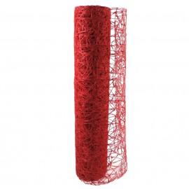 Sisal Mesh ↕ 53 cm Rojo