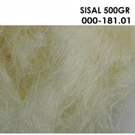 Sisal Natural 500 gr
