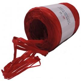 Rafia Sintetica 200 mts Rojo