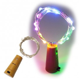 Led 20 luces Multicolor c/Pilas