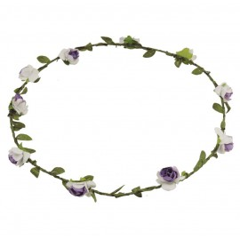 Corona Flores Ø 18 cm Lila