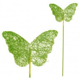 Pick Mariposa Sisal Verde (5ud)