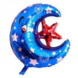 Foil Luna con Estrella...
