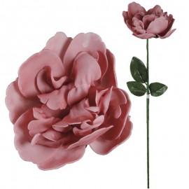 Peonia Foam Ø15cm Rosa Fuerte