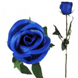 Rosa Latex Perfumado 46cm Azul