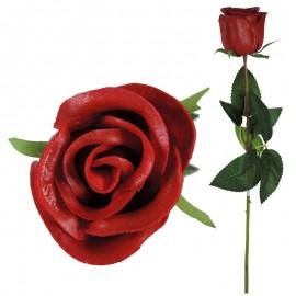 Rosa Latex Perfumado 46cm Rojo