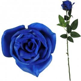 Rosa Abierta Latex 62cm Azul