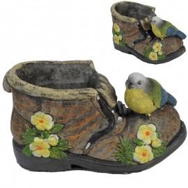 Mac. Zapato con Pajarito Verde