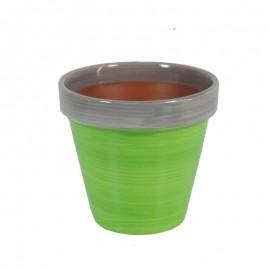 Maceta Mini Verde Lima Ø9 cm
