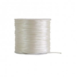 Cola de Ratón 2mm Blanco 50mt