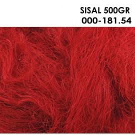 Sisal Open 500 gr Rojo