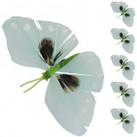 Mariposa Iman Verde (6ud)