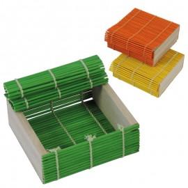 Caja Bambu Colores Surtidos