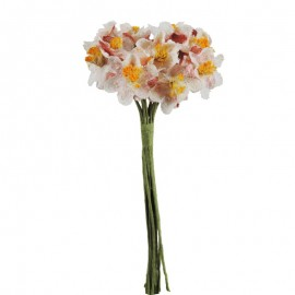Mini Ramillete Flor Tejido...