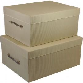Caja Carton Rustica (Set2)
