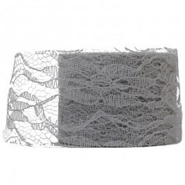 Encaje Tull 10y x ↕ 5 cm Gris