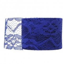 Encaje Tull 10y x ↕ 5 cm Azul