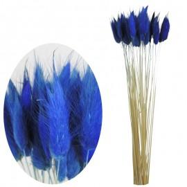 Bunny Tails 50 pcs Azul