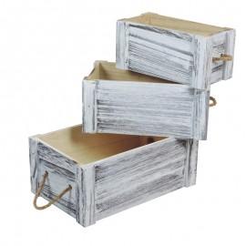J.3 Cajas Madera Cuerdas...