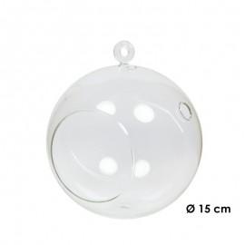 Bola Cristal Colgante Ø15 cm
