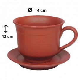 Cubre Taza Decorativa Roja...