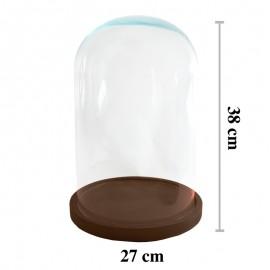Cúpula Cristal ↕38x23.5 cm...